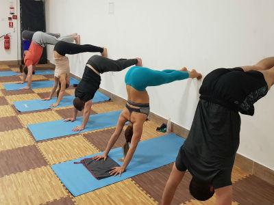hardcore jóga